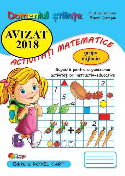 Domeniul stiinte/ activitati matematice – grupa mijlocie