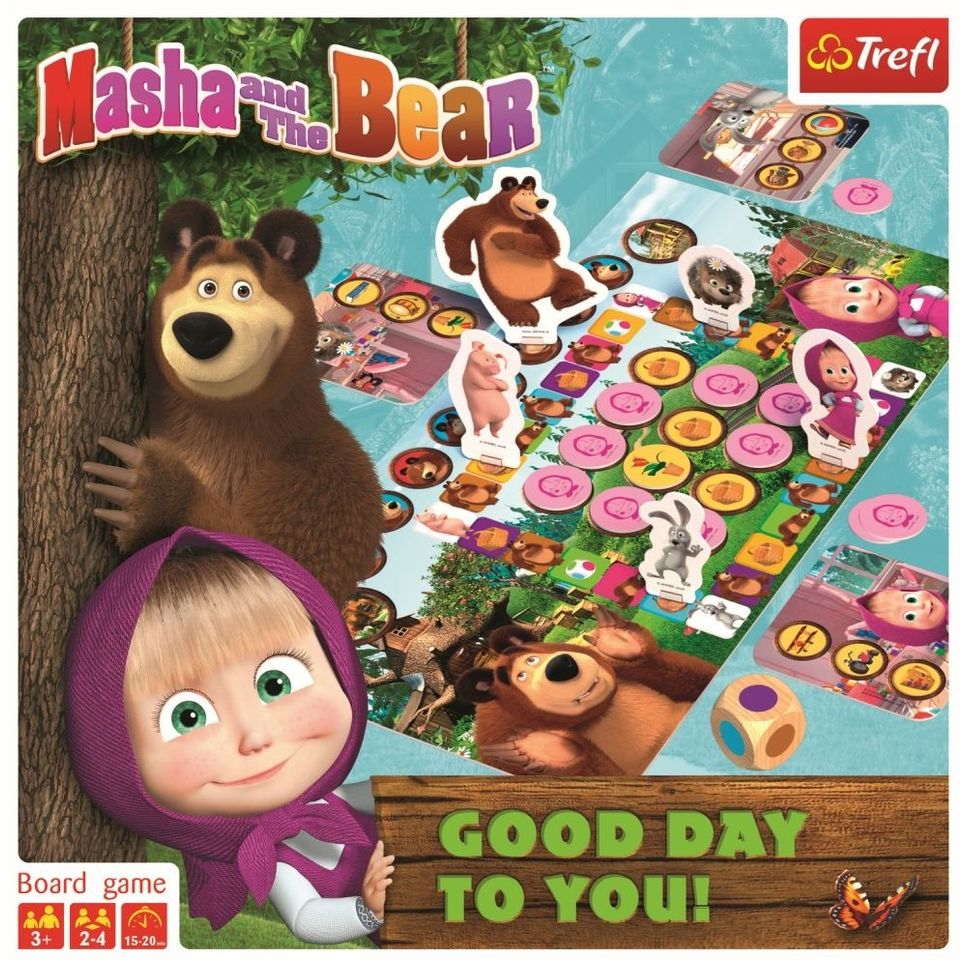 Joc Masha Si Ursul - O Zi Buna | Trefl - 4