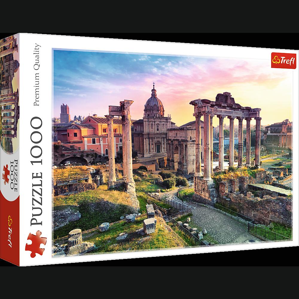 Puzzle 1000 de piese - Forum Roman   Trefl