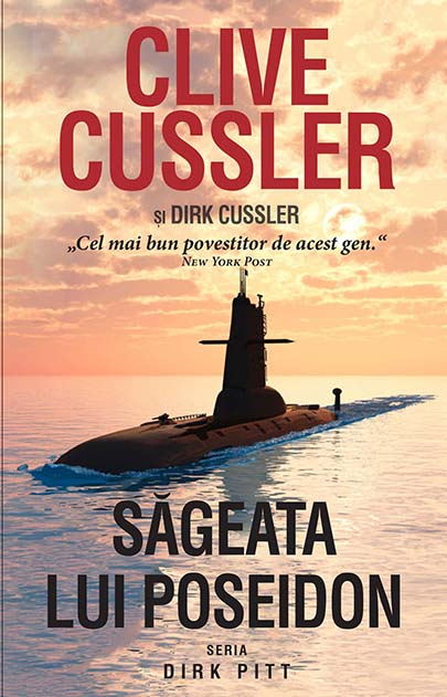 Imagine Sageata Lui Poseidon - Clive Cussler, Dirk Cussler