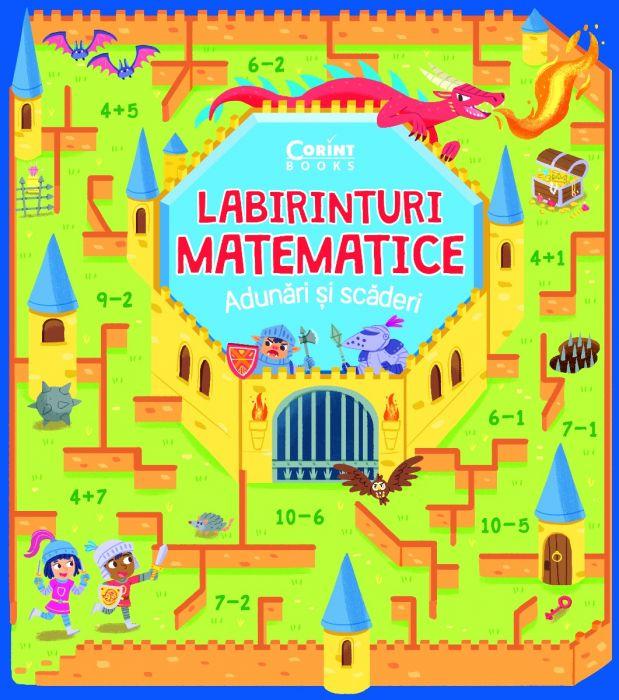 Labirinturi matematice – Adunari si scaderi |