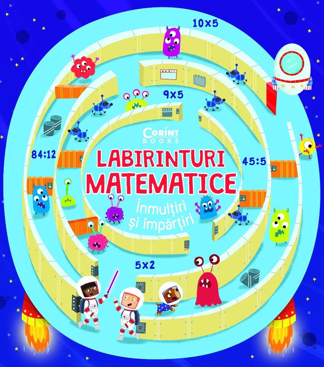 Labirinturi matematice – Inmultiri si impartiri |