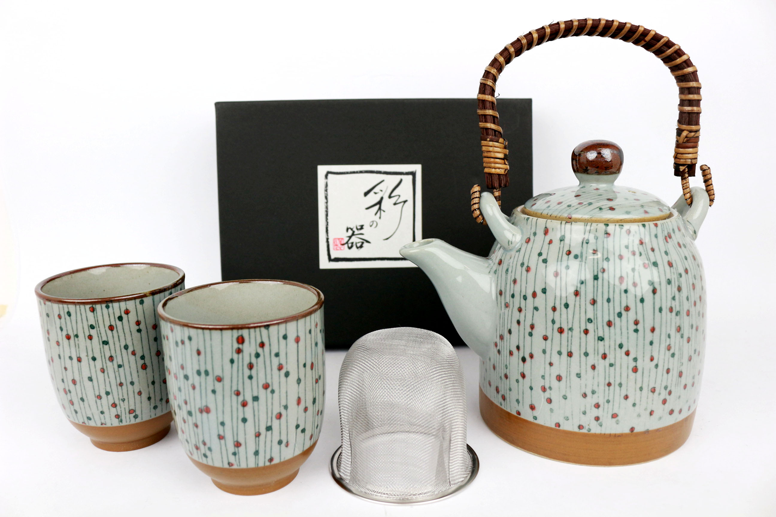 Set ceainic si cesti -Tajimi
