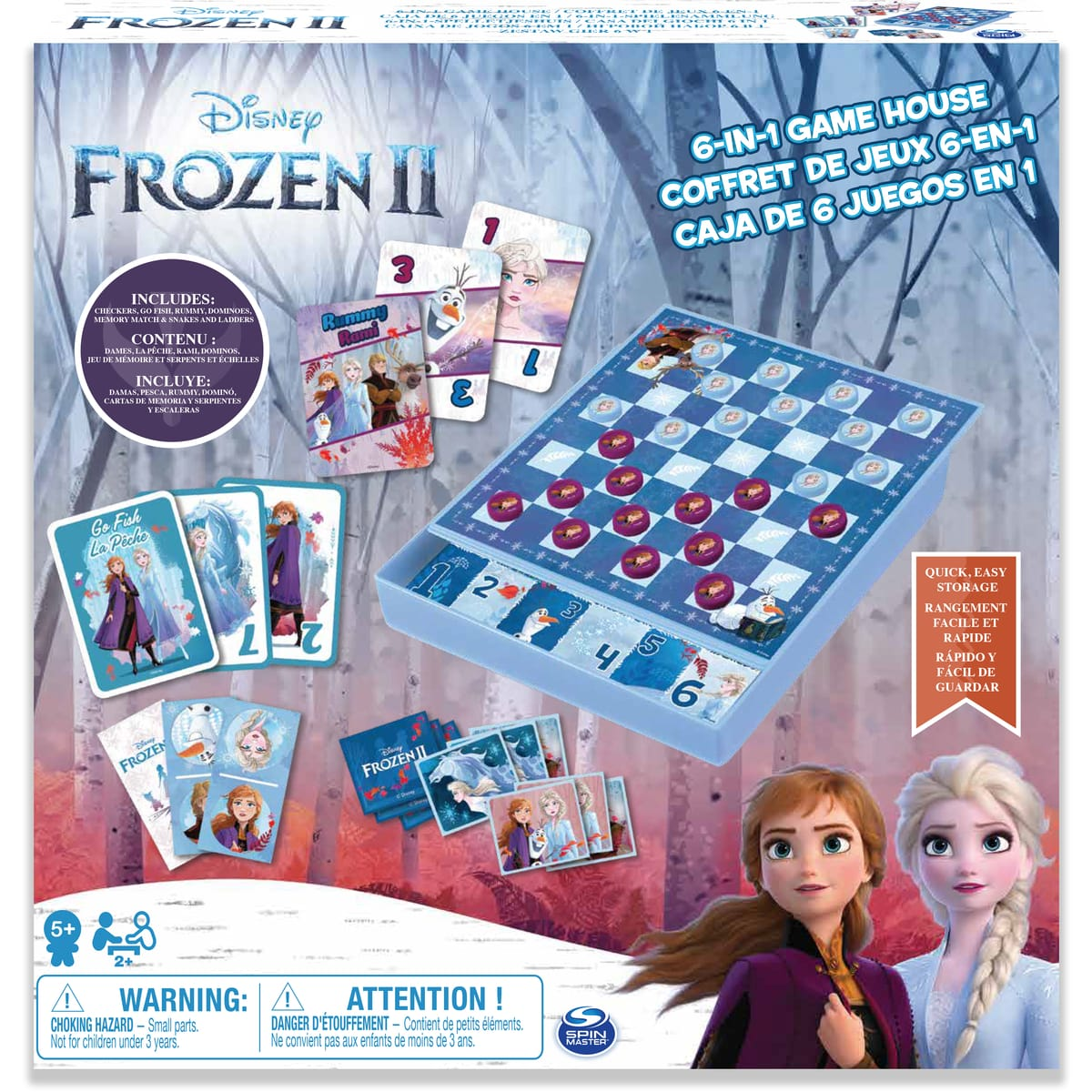 Joc 6in1 - Frozen 2 | Spin Master