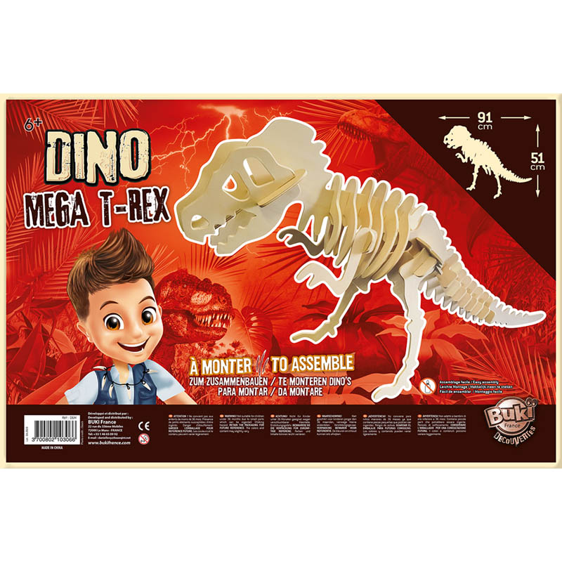 Dinozaur - DINO T-REX gigant | Buki