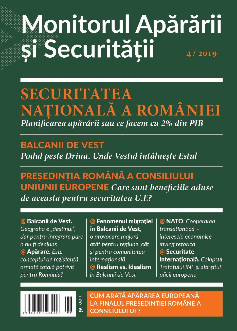 Monitorul Apararii si Securitatii 4/2019