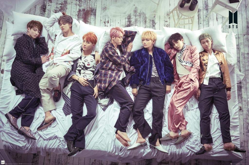 Poster - BTS Group - Bed thumbnail