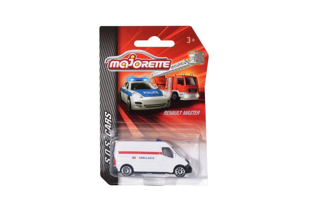 Masinute - Majorette machete metalice S.O.S cars -diverse modele   Majorette - 2