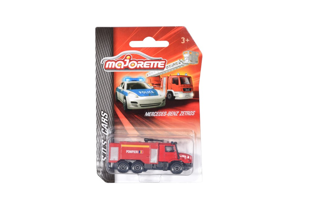Masinute - Majorette machete metalice S.O.S cars -diverse modele   Majorette - 1