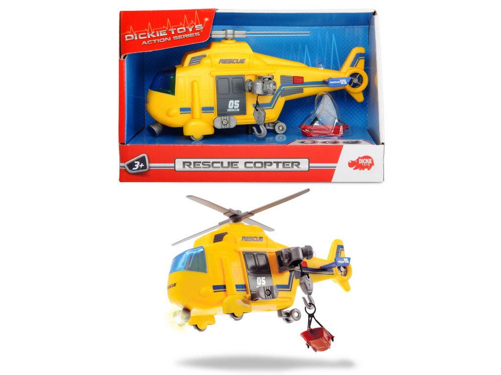 Jucarie -Elicopter de salvare Dickie Toys, cu lumini si sunete | Dickie