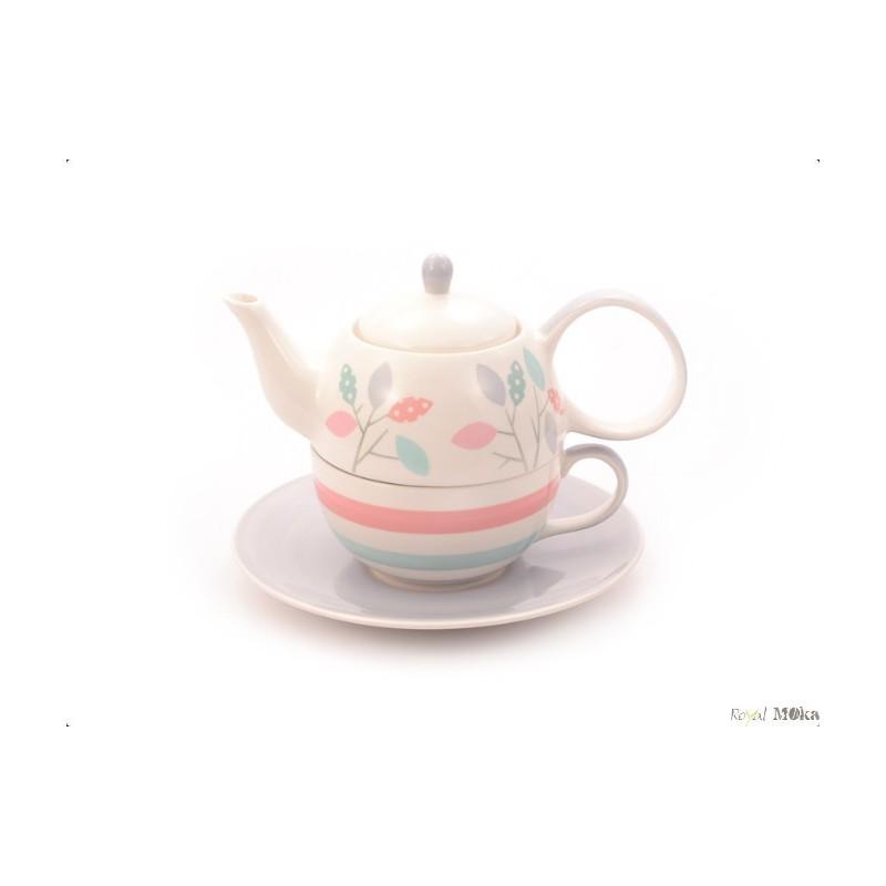Set Tea For One- Dahlia