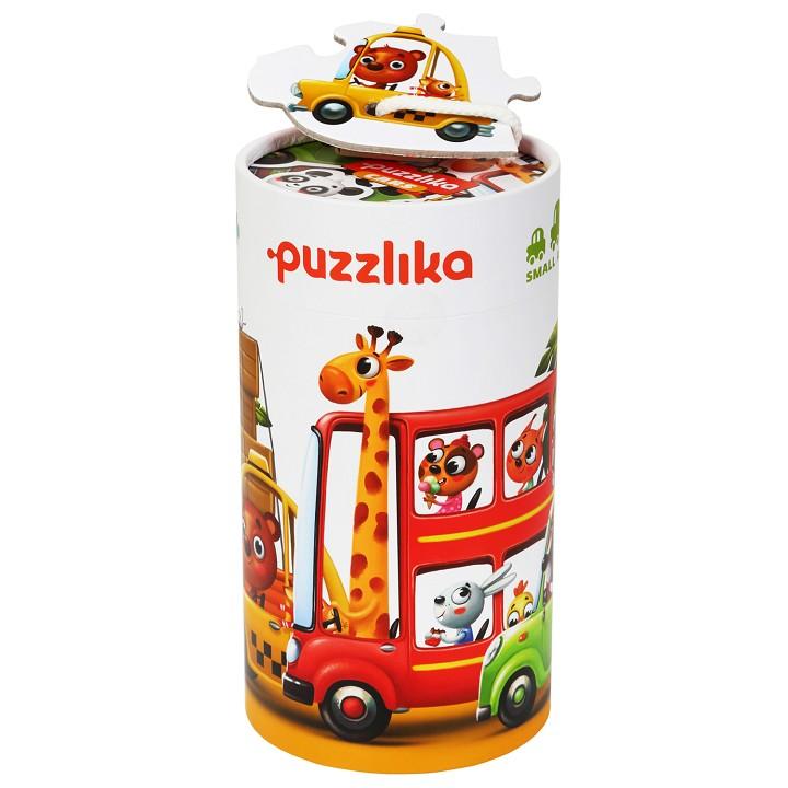 Puzzle - Masinutele cu prieteni | Cubika