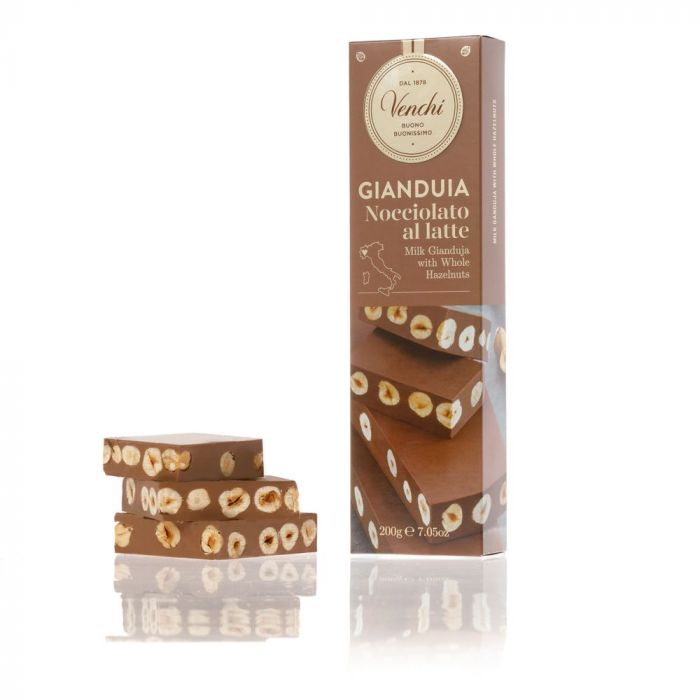 Tableta de ciocolata - Gianduja nocciolato al latte