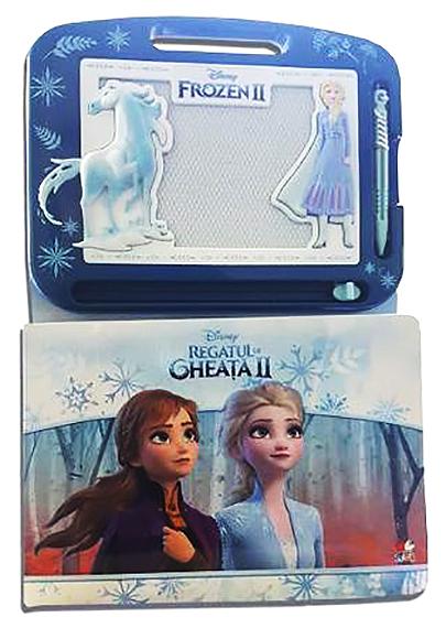 Regatul de gheata II (Frozen II). Carte cu tablita magnetica