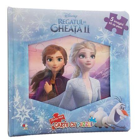 Regatul de gheata II (Frozen II). Prima mea carte cu puzzle thumbnail