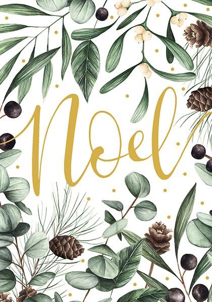 Felicitare de Craciun - Frosted Noel thumbnail
