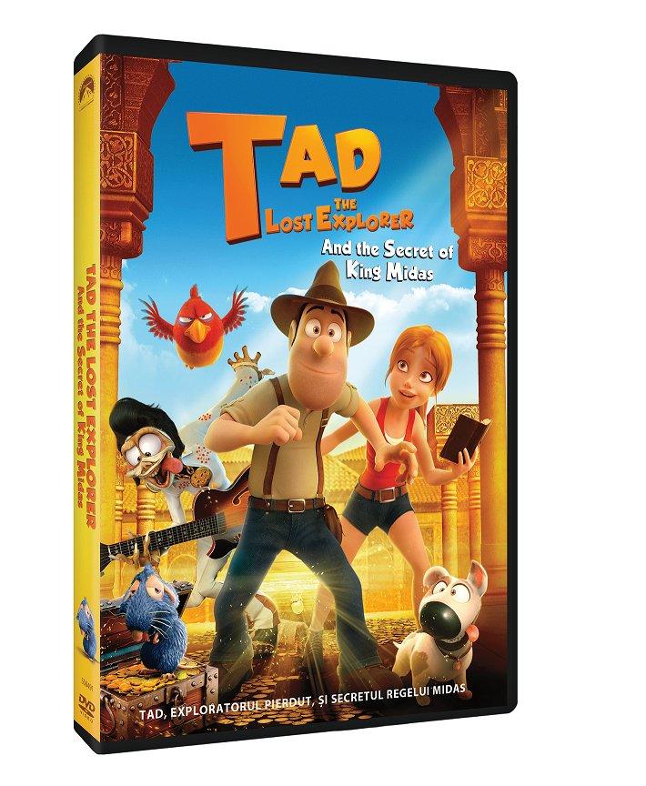 Tad, Exploratorul pierdut si secretul Regelui Midas / Tad the Lost Explorer and the Secret of King Midas