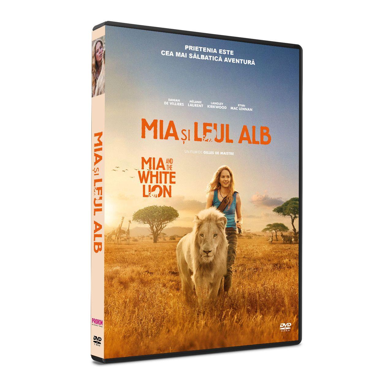 Mia si Leul Alb / Mia et le lion blanc thumbnail