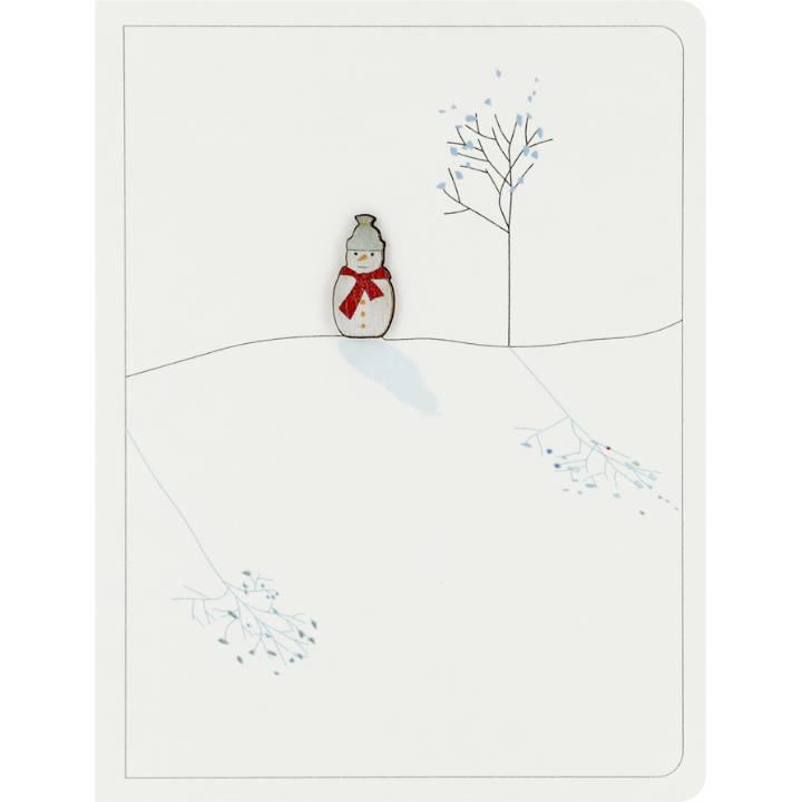 Felicitare - Snowman & Tree thumbnail
