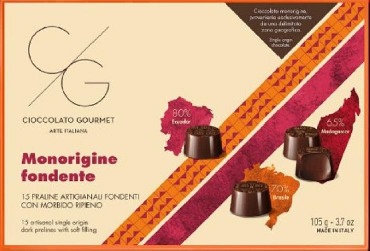 Praline din ciocolata neagra single-origin