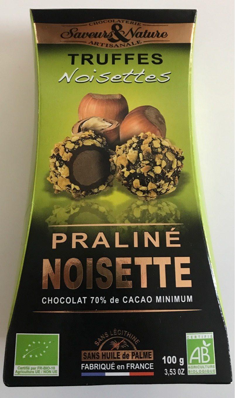Trufe cu alune - Ballotin Truffes Noisette Bio