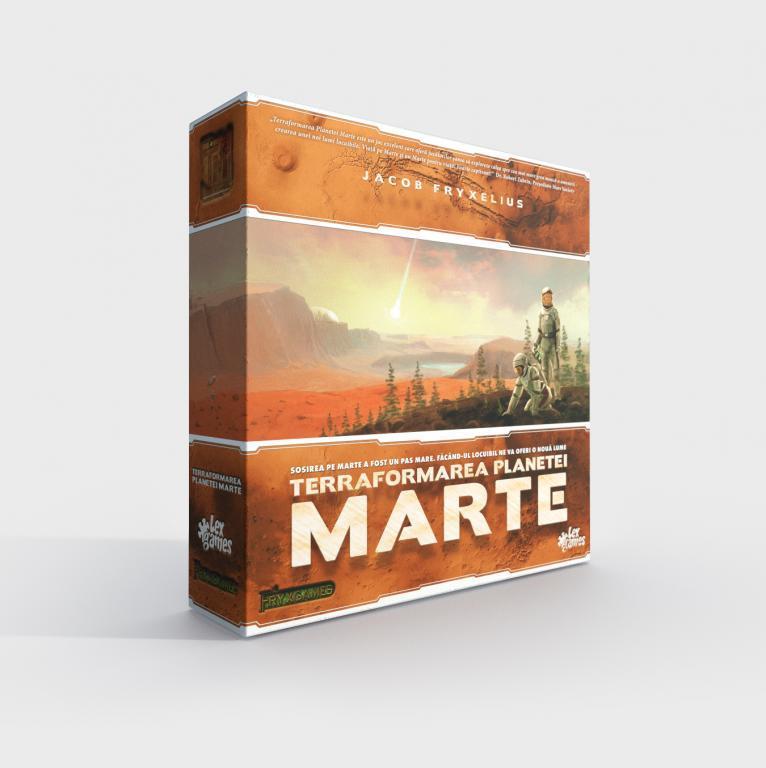 Terraformarea Planetei Marte | Lex Games