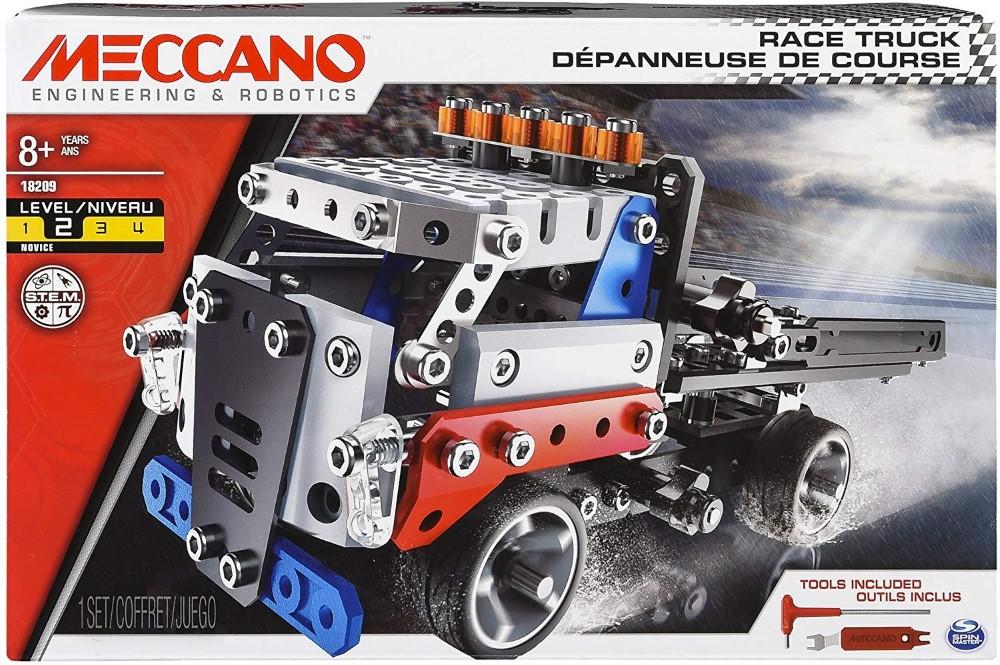 Masina - Meccano Kit camion pentru curse | Viva Toys