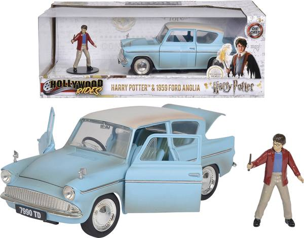 Macheta metalica - Harry Potter - 1959 Ford Anglia | Jada Toys