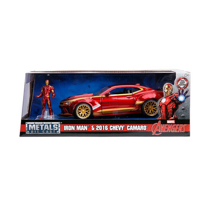 Macheta metalica - Iron Man - 2006 Chevrolet Camaro | Jada Toys