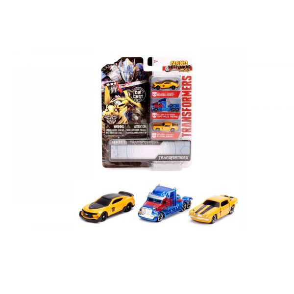 Set 3 machete metalice - Transformers | Jada Toys
