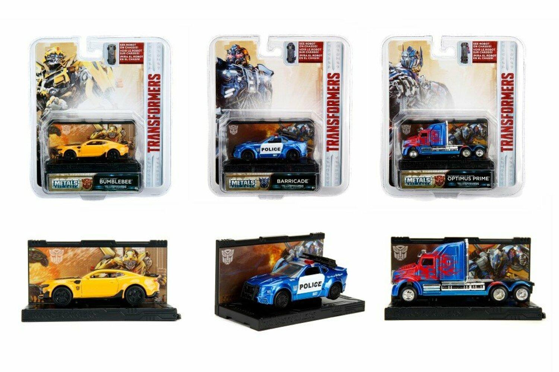 Machete metalice - Transformers - mai multe modele | Jada Toys