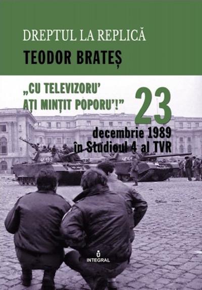 23 decembrie 1989 in Studioul IV al TVR