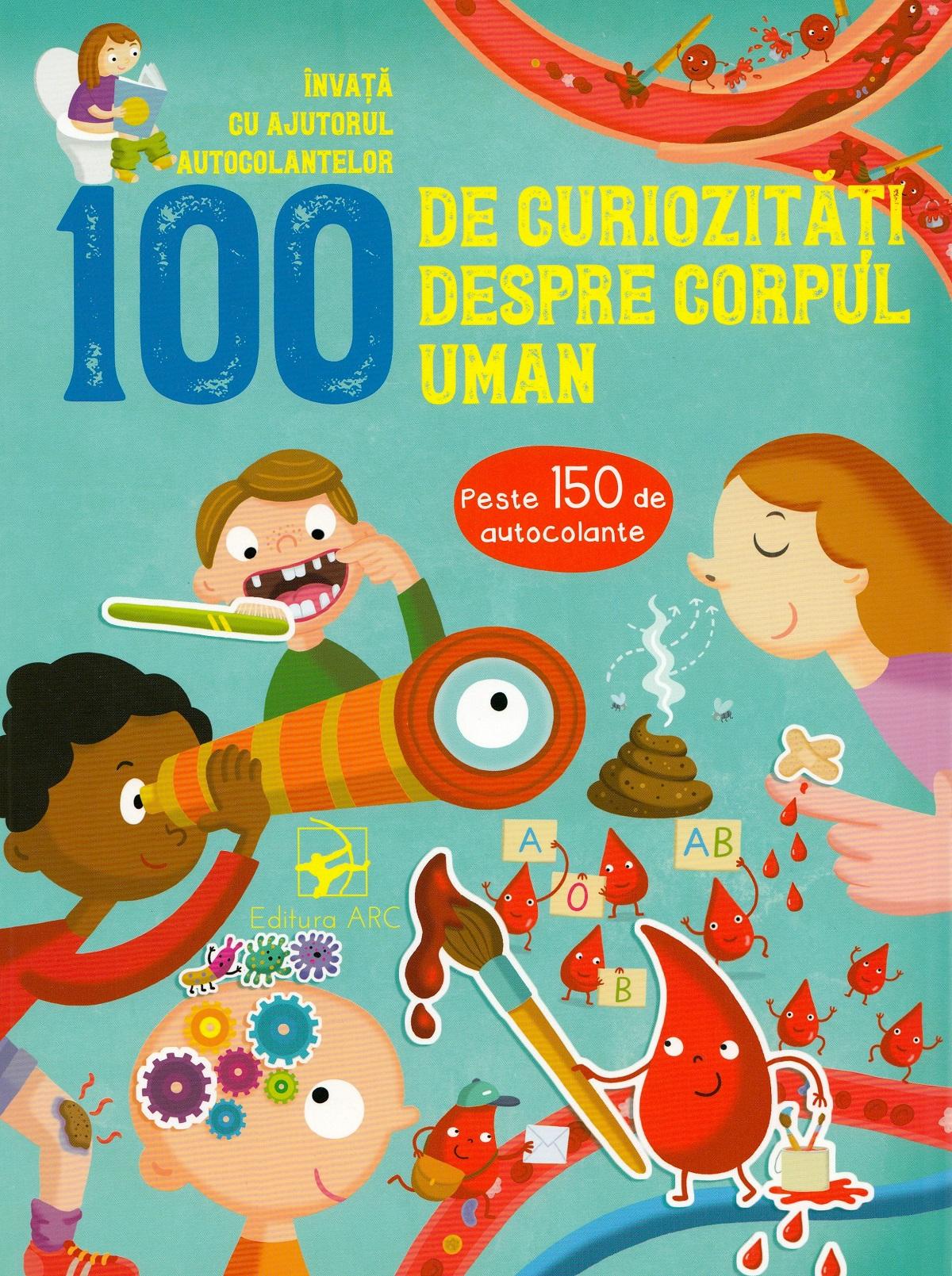 Imagine 100 De Curiozitati Despre Corpul Uman -