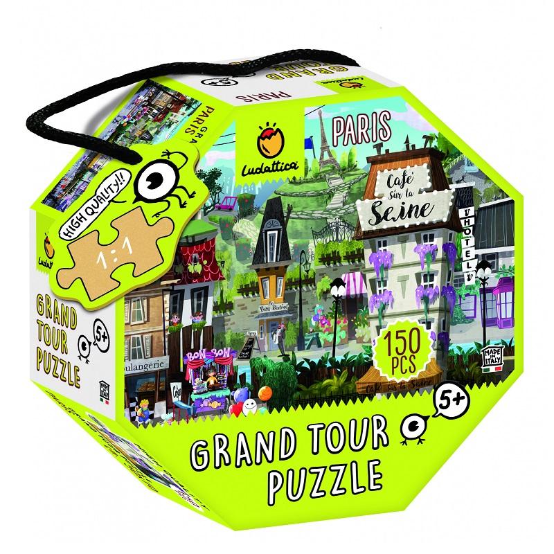 Puzzle - Ocolul Pamantului, Paris | Ludattica