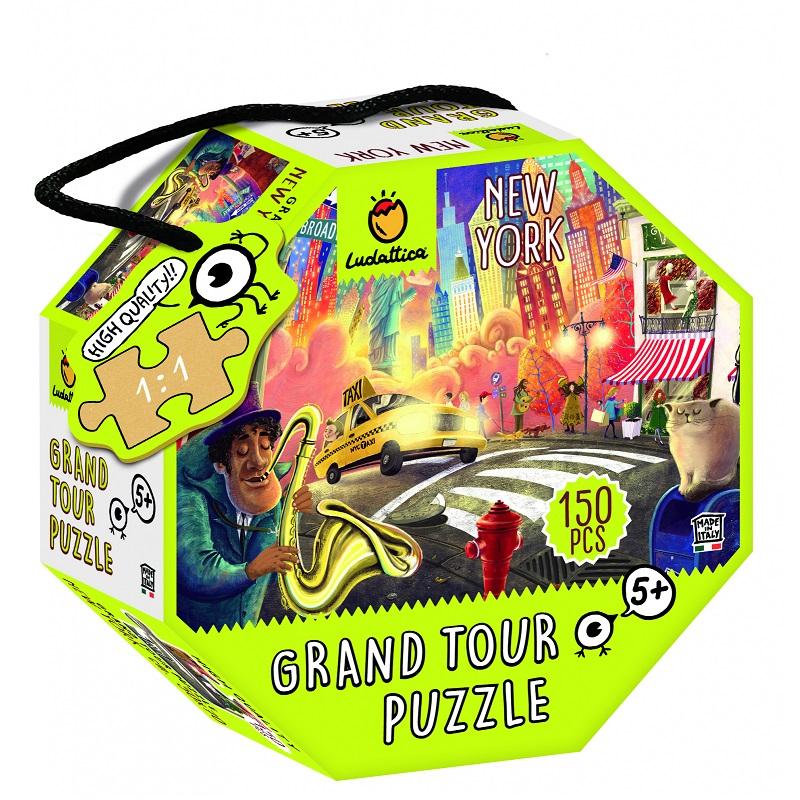 Puzzle - Ocolul Pamantului, New York | Ludattica