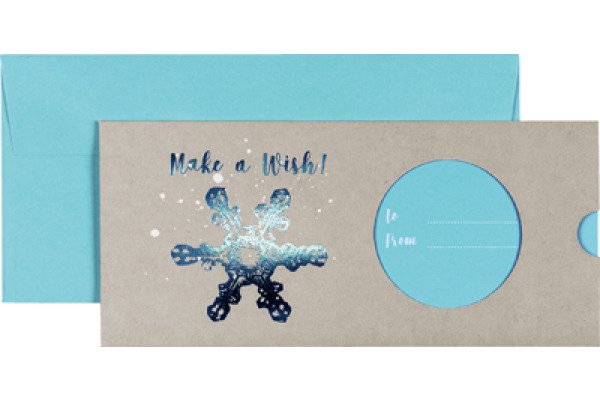 Felicitare tip voucher - Make a Wish Blue! thumbnail