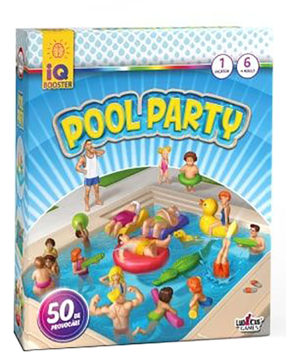 IQ Booster - Pool Party   Ludicus