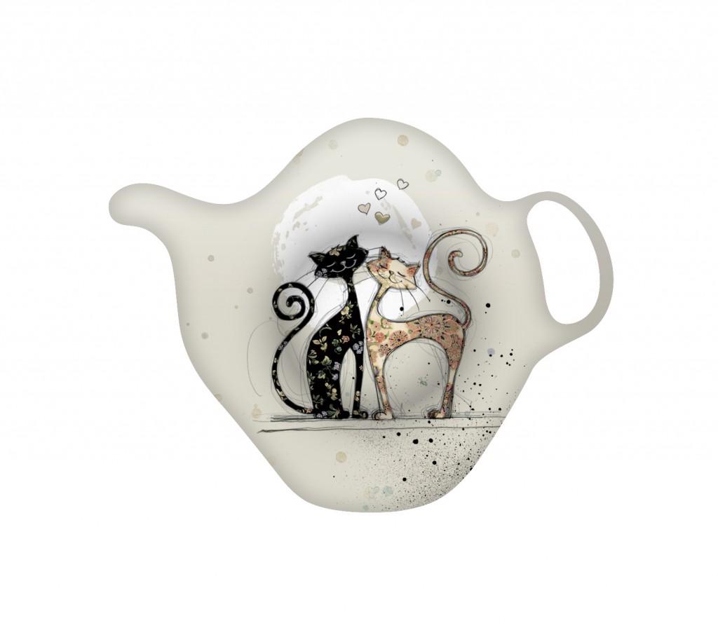 Suport pentru plicul de ceai - Chats en Amour