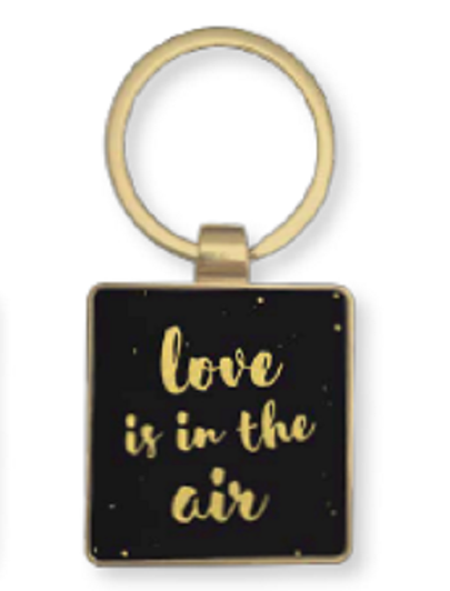 Breloc-Porte Cles Color Chic-Love is in the air