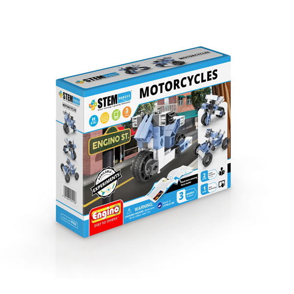 Kit constructie - Stem Heroes - Motorcycles | Engino
