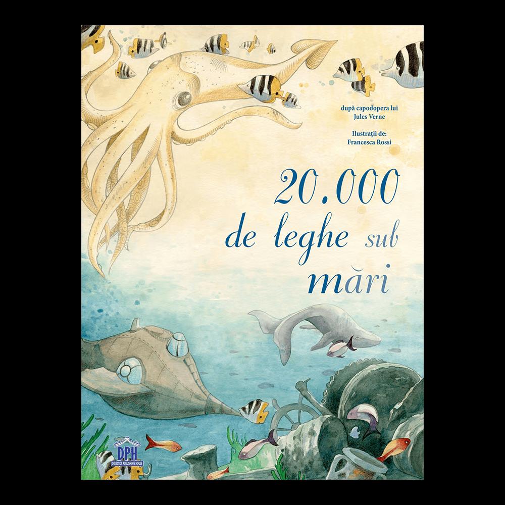 20 000 de leghe sub mari   Jules Vernes