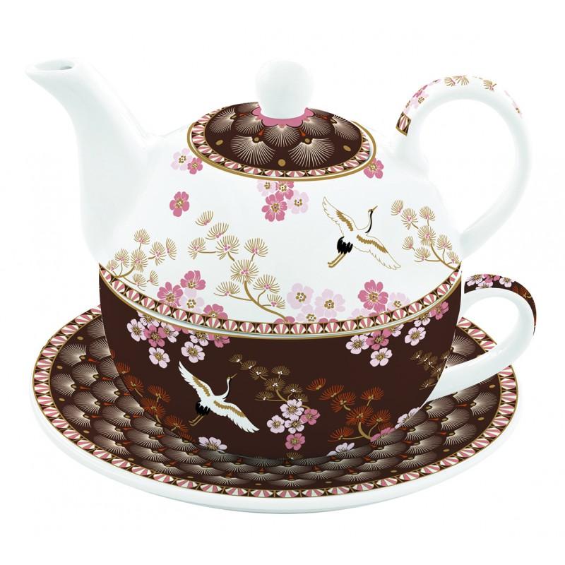 Set de ceainic cu ceasca - Tea For One - Atmosphere Oriental