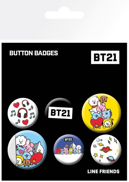 Set insigne - BT21
