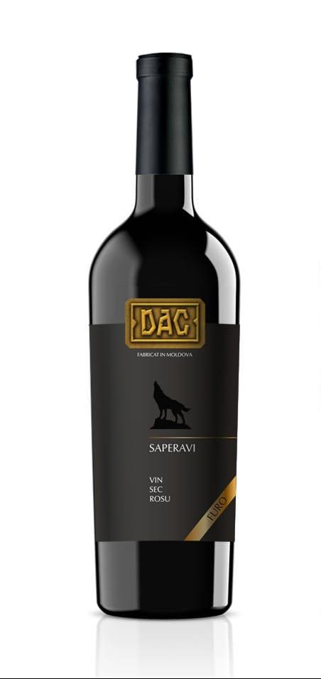 Vin rosu - Vinaria Dac, Saperavi, sec, 2017