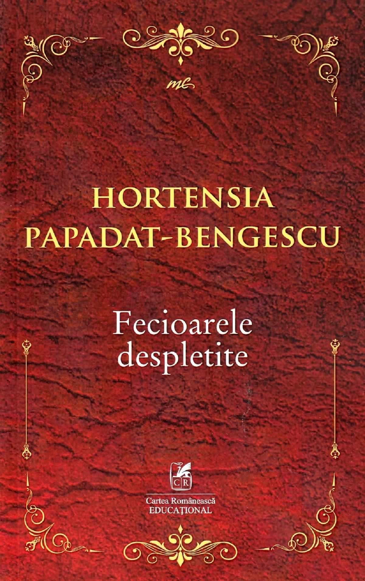 Imagine Fecioarele Despletite - Hortensia Papadat-bengescu