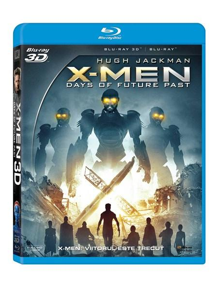 X-Men: Viitorul este trecut 2D + 3D (Blu Ray Disc) / X-Men: Days of Future Past