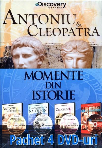 Pachet 4 DVD Momente din istorie