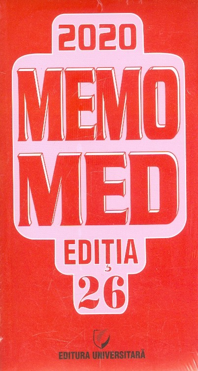 Memomed 2020 + Ghid Farmacoterapic