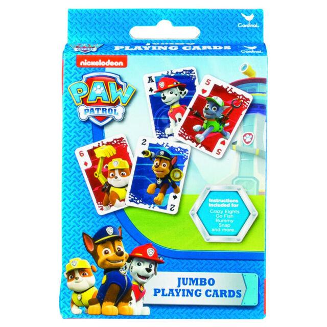 Carti de joc Jumbo- Patrula Catelusilor | Paw Patrol