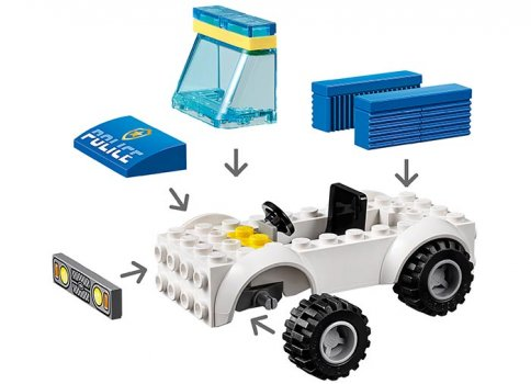 Unitate de politie canina (60241) | LEGO - 5